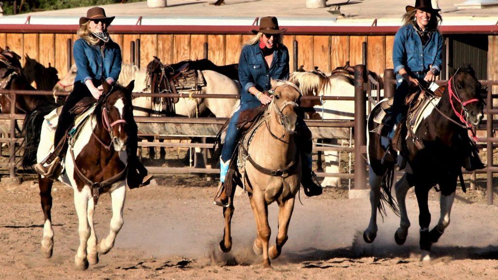 Dude Ranch FUN at White Stallion Ranch